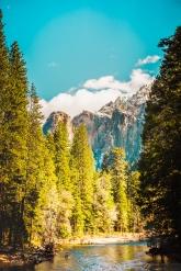 Yosemite Canyon - River - mountain