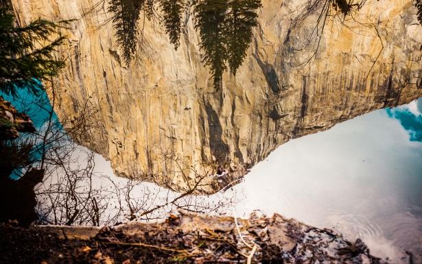 Yosemite Canyon upsidedown