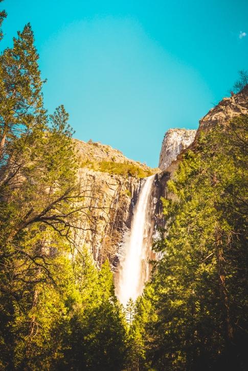 Yosemite Canyon Waterfall
