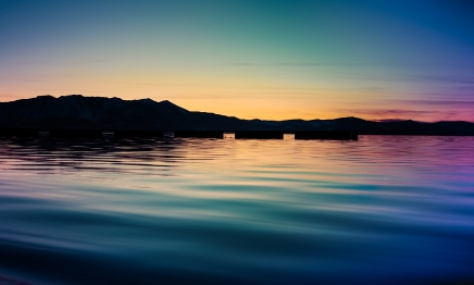 Lake Tahoe Sunset-3
