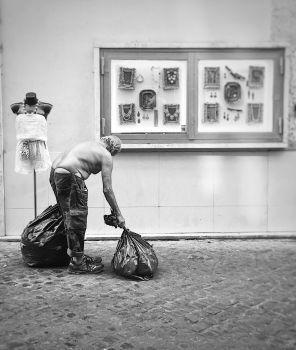 Rome - homeless