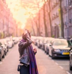 Sunset_woman_portrait