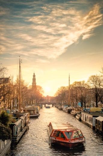 Westerkerk Sunset (1 of 1)